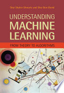 Understanding Machine Learning, From Theory to Algorithms by Shai Shalev-Shwartz,Shai Ben-David PDF