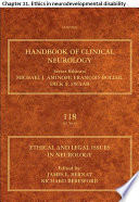 Ethical and Legal Issues in Neurology Book