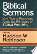 Biblical Sermons