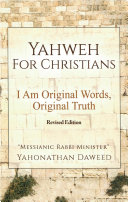 Yahweh for Christians Pdf/ePub eBook