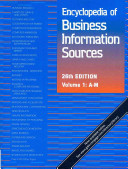 Encyclopedia Of Business Information Sources