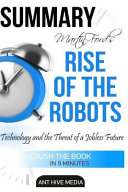 Martin Ford s Rise of the Robots Summary