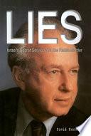 Lies, Israel's Secret Service, and the Rabin Murder