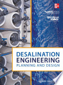 Desalination Engineering Planning And Design Book PDF