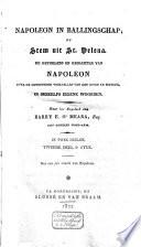 Napoleon In Ballingschap Of Stem Uit St Helena