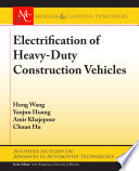 Electrification of Heavy Duty Construction Vehicles