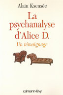 La Psychanalyse d'Alice D. ebook