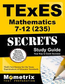 Texes Mathematics 7-12 235 Secrets