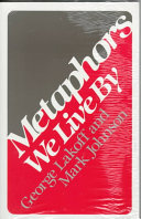 Cover of Metaphors We Live By