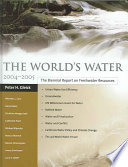 The World s Water 2004 2005 Book