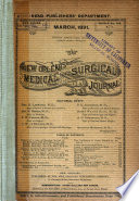 The New Orleans Medical and Surgical Journal