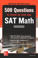500 Sat Math Questions To Know By Test Day Second Edition Book PDF