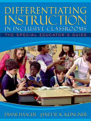 Differentiating Instruction in Inclusive Classrooms