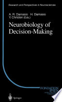 Neurobiology of Decision Making Book
