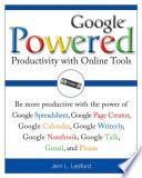 Google Powered  : Productivity with Online Tools