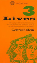 Cover of The Three Lives