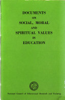 Documents on Social  Moral  and Spiritual Values in Education