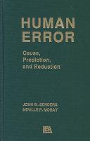 Human Error Online Book