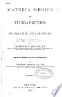 Materia medica and therapeutics pt  2 v  1  1882