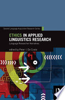 Ethics in Applied Linguistics Research