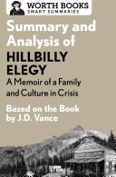 Summary and Analysis of Hillbilly Elegy: A Memoir of a Family and Culture in Crisis Pdf/ePub eBook