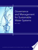 Governance and Management for Sustainable Water Systems