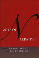 Acts Of Narrative
