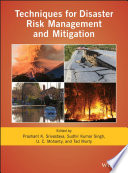 Techniques for Disaster Risk Management and Mitigation Book