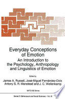 Everyday Conceptions Of Emotion