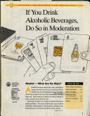 If You Drink Alcoholic Beverages Do So In Moderation Book PDF