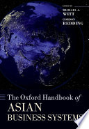 The Oxford Handbook Of Asian Business Systems Book PDF