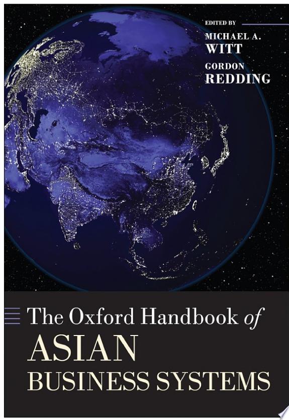 The Oxford Handbook of Asian Busine