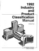 Industry and Product Classification Manual