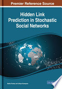 Hidden Link Prediction in Stochastic Social Networks