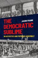 The Democratic Sublime Pdf/ePub eBook
