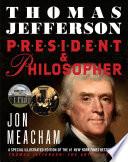 Thomas Jefferson  President and Philosopher Book PDF