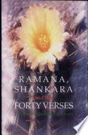 Ramana  Shankara and the Forty Verses