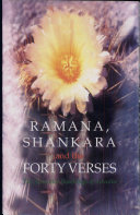 Ramana, Shankara and the Forty Verses