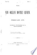 The New Orleans Monthly Review