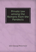 Pdf Private law among the Romans from the Pandects Telecharger