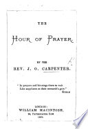 The Hour of Prayer