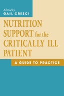 Pdf Nutrition Support for the Critically Ill Patient