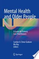 Mental Health And Older People