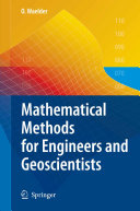 Mathematical Methods for Engineers and Geoscientists