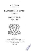 Bulletin de la Librairie Morgand et Fatout
