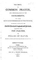 Pdf The Book of Common Prayer, Etc. [With an Introduction by J. Reeves.]