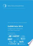 CeDEM Asia 2016 Book