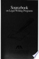 Sourcebook on Legal Writing Programs