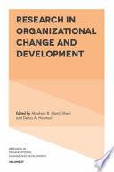 """Research in Organizational Change and Development"" by Abraham B. (Rami) Shani, Debra A. Noumair"