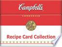 Recipe Card Box Campbell's